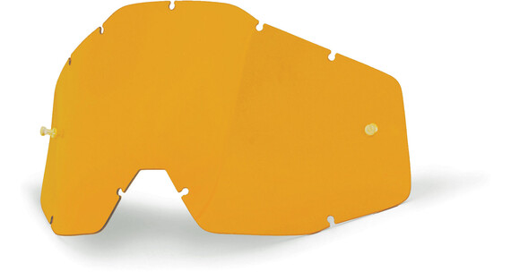 100% Replacement Lenses persimmon-Clear
